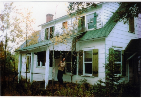 Clowning on the porch, 2003