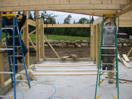settingjoists