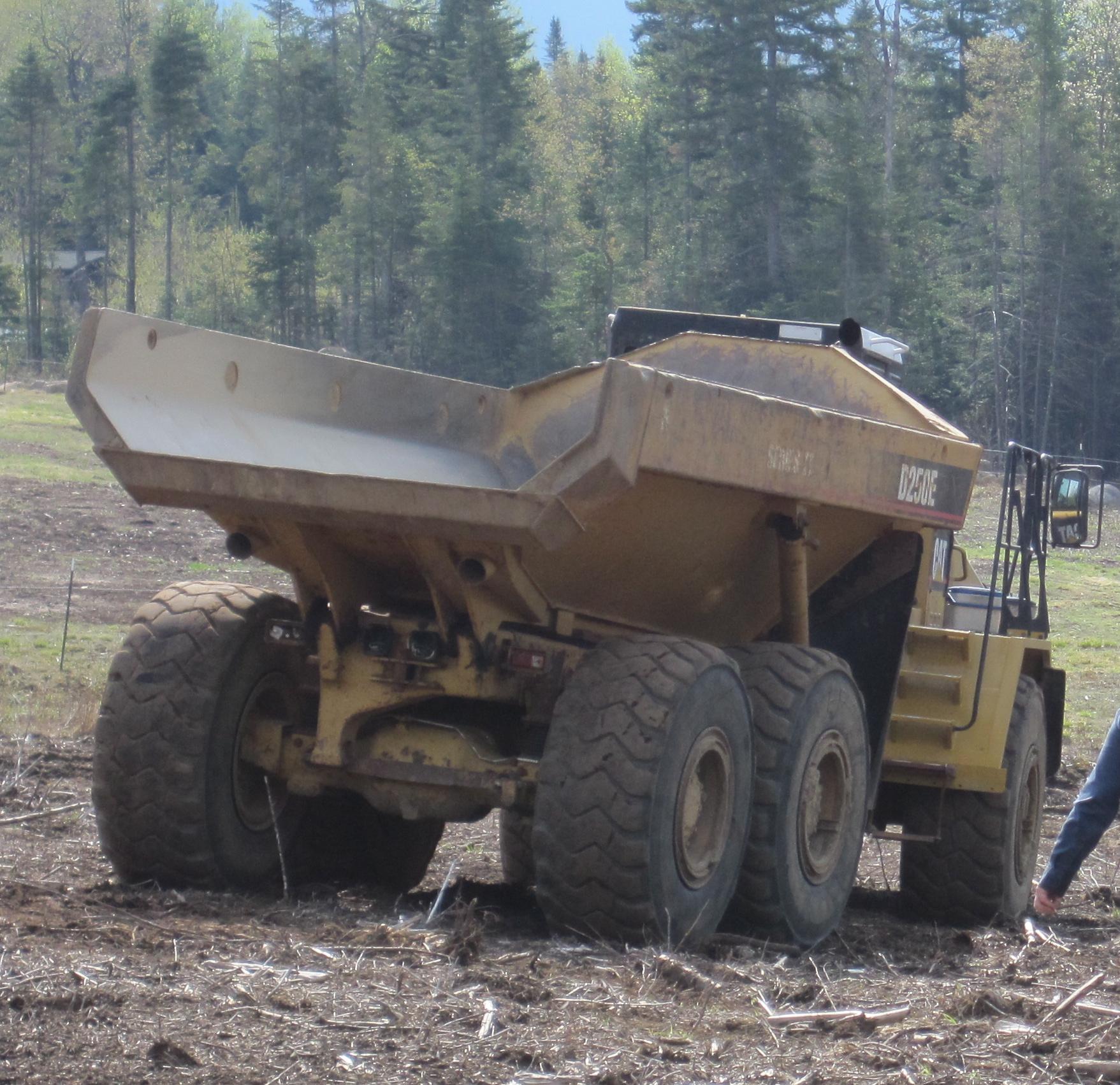 largest yuke dump truck - alling ll Yukes Fairhope Farm